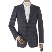 "Grey Check Tweed Jacket 44"" Regular"