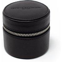 Black Leather Cufflink Storage Box.