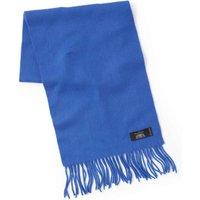 Cobalt Blue Cashmere Scarf.