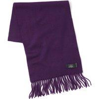 Deep purple Cashmere Scarf.