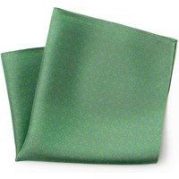 Green Blue Circle Print Silk Pocket Square