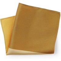 Shades of Yellow Silk Pocket Square.