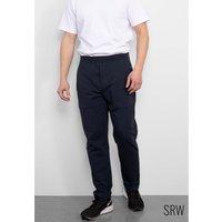 SRW Active Navy Stretch Loopback Cotton Sweat Joggers XXL