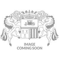 White Navy Check Slim Fit Windsor Collar Shirt - Single Cuff 16 1/2