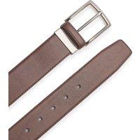 Brown Leather Belt 44.