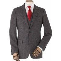 Grey Tweed Herringbone Jacket 50