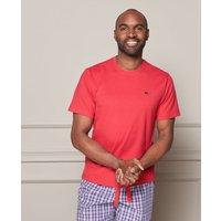 Red Cotton Jersey Crew Neck T-Shirt XXL