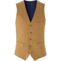 Mustard Tweed Waistcoat 50