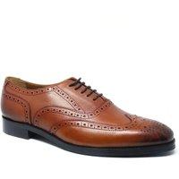 Tan Leather Brogues 8