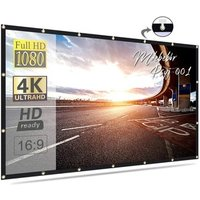 Fast Fold 100 Inch 120 Inch 16:9 Outdoor Movie Theater Projection Screen Foldable Rear Portable Projector Screen