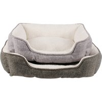 Manufacturer wholesale custom logo linen soft plush bed accessories for dog