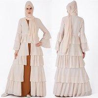 2019 casual comfortable chiffon Turkish abaya bu tang Banjul melayu kimono style maxi dress for sale open abaya