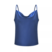 Custom Ladies Camisole chiffon Casual Cami Tank Top