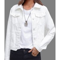 2019 Autumn Winter Coat Long Sleeve Women Denim Jacket Ladies Short White Jean Jacket