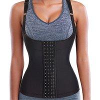 Bodysuit shirt women sexy corset trainer tummy control corset girdle tops colombian corset xxs waist cincher