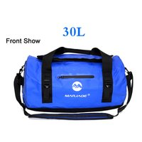 Logo Printing Soft Sided Wet Dry Gym Duffle Bag Waterproof PVC Motorcycle Dry Bag