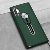 Shockproof Tpu Pc Hybrid Kickstand Cell Phone Case for Samsung Galaxy Note 10 Plus Mobile Back Cover with Ring Holder