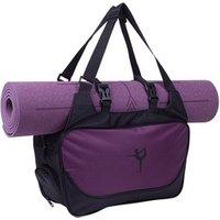 Durable Low MOQ cheap 50Pcs customized oxford waterproof gym bag yoga mat carry bag for women