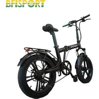 36v foldable electric bike 250w hot sale low price factory e bike with Rear Carrier