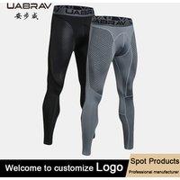 Workout sports compression Leggings fitness men custom wholesale blank jogger pants