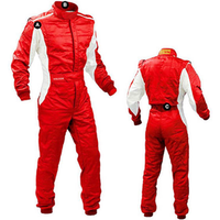 fatory hot sell 2019 Wholesale 2 layers Racing Suit FIA homolaogation logo on neck go kart racing suit