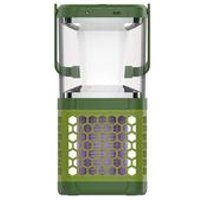 '5w Outdoor And Indoor Solar Panel Led Camping Light With Bule Light Usb Rechargeable Electric Mosquito Killer Lamp