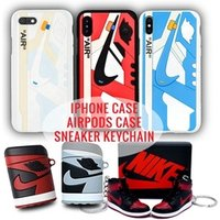 'Phone Case For 6 6s 6sp 7 8 8s Plus X Xr Xs Max Case Nike Air Jordan 1 Bred 3d Sneaker Textured Case