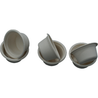 'Biodegrabable Compostable Sugarcane Bassage Pulp Disposable Paper Cup  2 Oz
