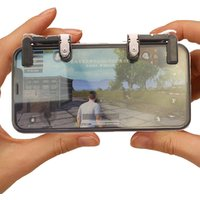 game accessories for mobile fire button shooting android game controller mini mobile joystick
