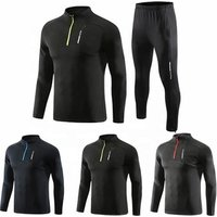 Four seasons long sleeve custom track suit custom made sweat suits jogging suits