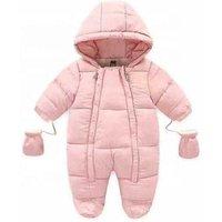 P0116 Kids Baby Girls boys Heavy Down Winter Jacket romper for Children
