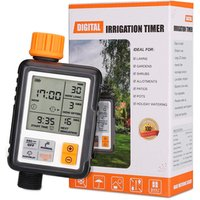 New Latest Electronic Automatic Garden Water Timer Irrigation Program Sprinkler Control Water Digital Timer