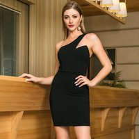 Printed Dress Style One Piece Ladies Women Pencil Short Elegant Summer Casual Dresses Clothes