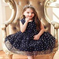 Korean flower girl dress wedding girl dress  baby full moon party dress white Christening Gown for 1 years old