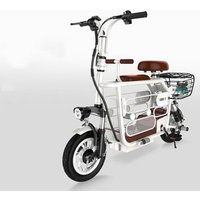 Women 48V 12 inch E Bike Electric Bicycle folding 100km