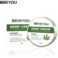 BEYOU Pain Relief Cream Private Label 5000mg Hemp Seed Cream CBD Hemp Extract Cream For Joint Pain