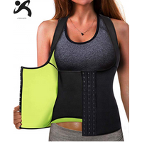 Amazon top seller neoprene waist trainer corset sweat vest and slimming belts waist trainer belt