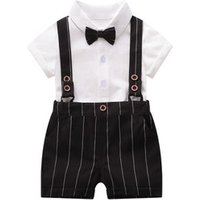 P0113 Boy Casual Kids Suit Boys Summer 2pcs Clothing Boys Short Set