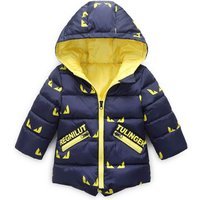 S65030A 2019 Winter New 100% Cotton baby boy casual Thick jacket coat