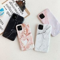 New Arrivals Marble for iPhone 11 Case Xi Pro 7/8 TPU Shockproof Soft for XS Max Mobile Phone Shell Print Cover for Samsung S9