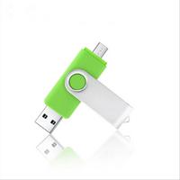 'Wholesale Otg Smartphone U Disk Metal Swivel Otg Usb Flash Drive Usb 3.0 Memory Stick 32gb 64gb