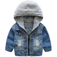 2019 new boys cowboy jacket autumn korean style denim shirt big children wild casual clothing alwt6359