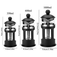 Wholesale Manual Coffee Cafetiere Stainless Steel Espresso Maker Percolator Filter