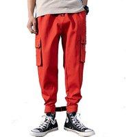 wholesale 2019 Outwear Clothing Elastic Sweatpants mens Cargo Pants Casual men trousers jeans stock