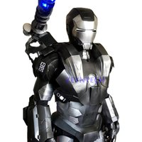Life size custom marvel avengers superhero iron man war machine costume cosplay suit for adult
