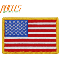 'Custom Embroidery American Flag Army Patches, Embroidered Tactical Patch Military Armband Army Badge