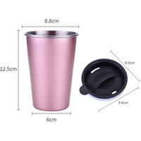 Custom stainless steel coffee cup insulated tumbler cups