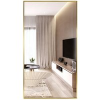 dressing design decorative wall hanging bathroom silver rattan full length frame mirror