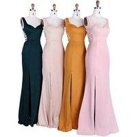 High quality latest special back Bridesmaid Dresses Long evening dresses elegant