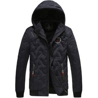 1972XYHZ Brand Winter Jacket Men Clothes 2019 Casual Stand Collar Hooded Fashion Winter coat